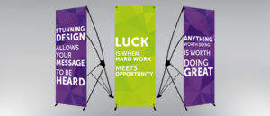 X Banner Stand Singapore